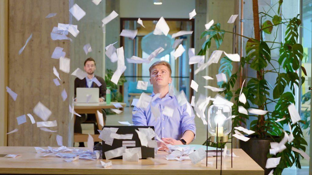 Still uit de online commercial